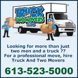Truck And two Movers - Ottawa Moving Company